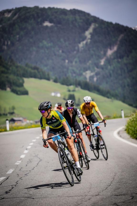 Spontaner Ausflug in die Welt des Radrennens